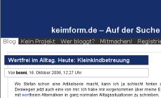 keimform.de - kein Projekt