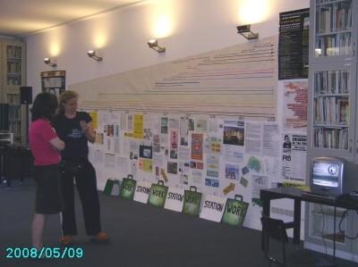 Ausstellung zum 10-jährigen Jubiläum der workstation