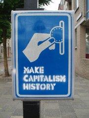 Make Capitalism History -- per Geldeinwurf?