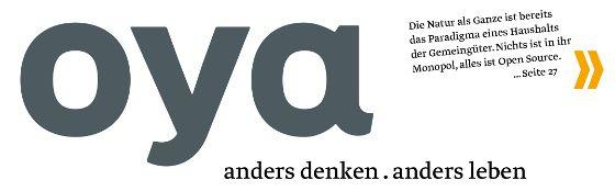 Oya-Titelkopf (Klicken um die gesamte Titelseite zu sehen)