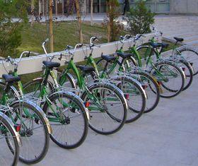 Bikesharing in Spanien – zum Vergrößern klicken (Lizenz: CC-BY-SA 3.0, Quelle: http://commons.wikimedia.org/wiki/File:Punto_de_recogida_situado_en_el_conservatorio.JPG )