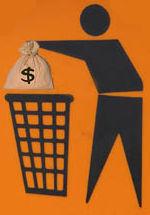 Geeignete Container zur finanziellen Entsorgung stehen überall bereit